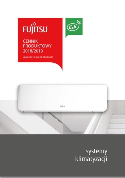 Cennik Fujitsu 2018 / 2019